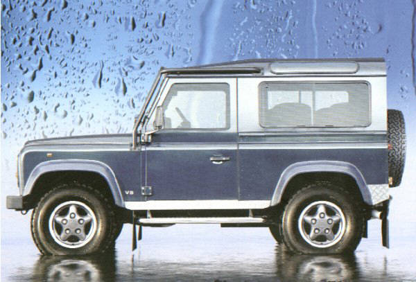 land-rover 90 station wagon #5