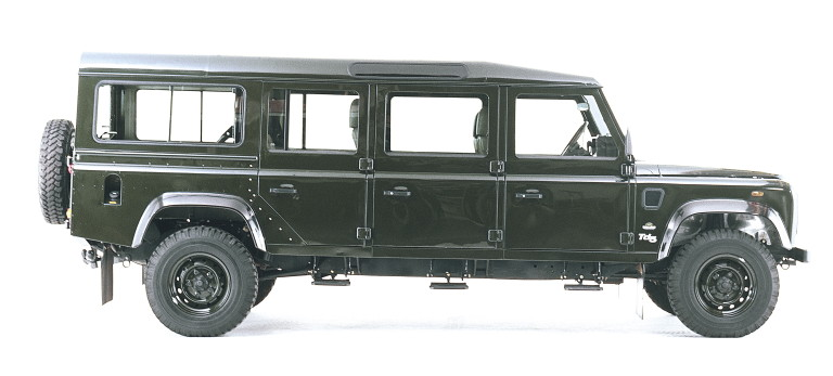 land rover defender 130 station wagon photos and comments. Black Bedroom Furniture Sets. Home Design Ideas