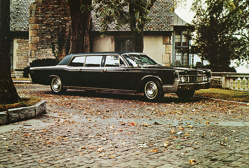 lincoln continental executive limousine #3