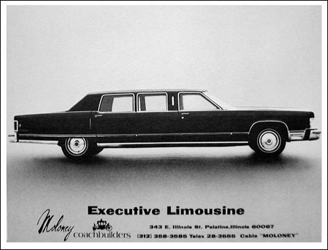 lincoln continental executive limousine #5