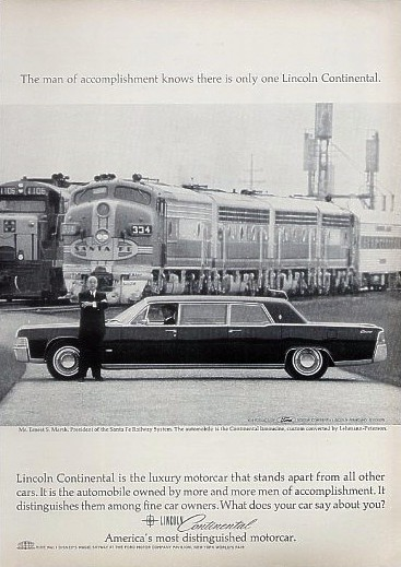 lincoln continental executive limousine #7
