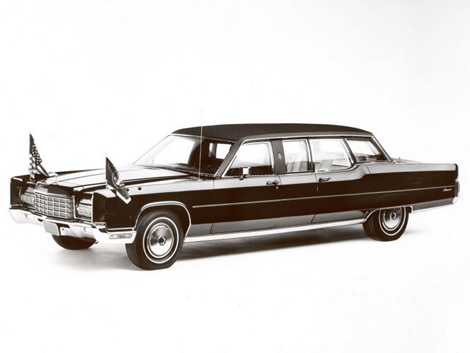 lincoln continental presidential limousine #2