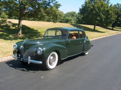 lincoln zephyr continental #1