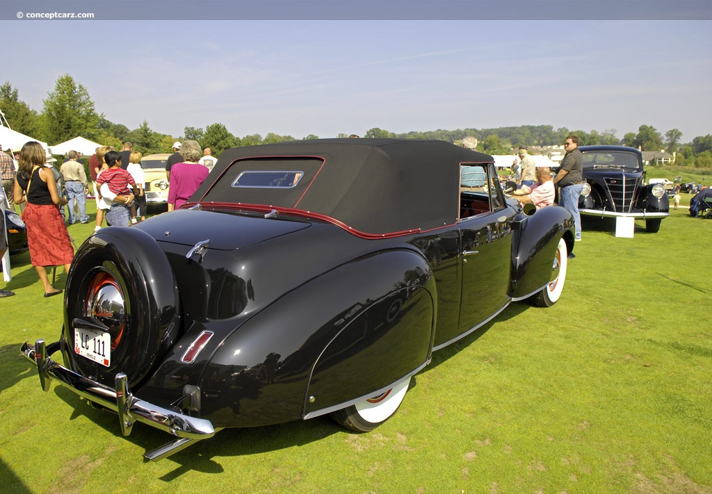 lincoln zephyr continental #3
