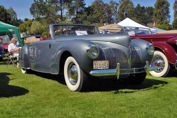 lincoln zephyr continental #5