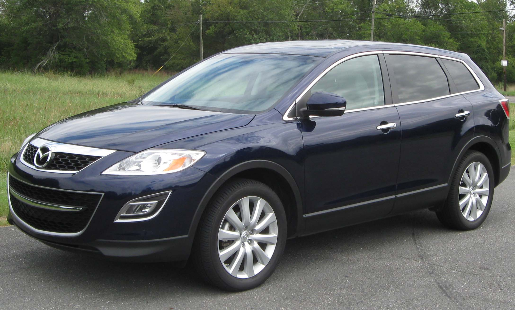 mazda cx 9 grand touring photos and comments www. Black Bedroom Furniture Sets. Home Design Ideas