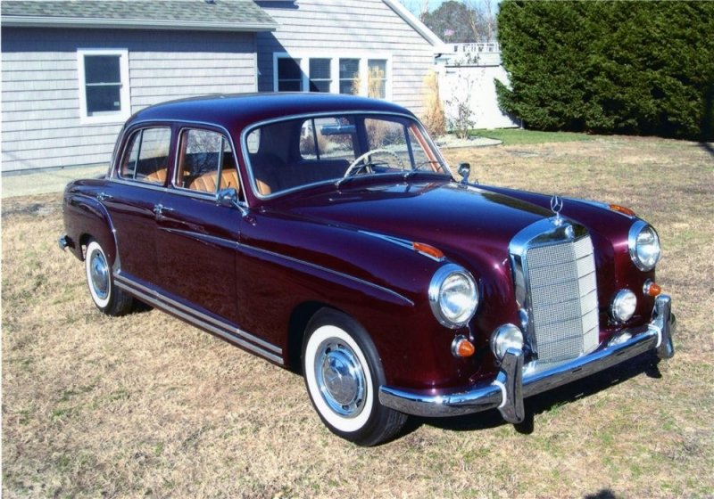 mercedes-benz 220 s coupe #4
