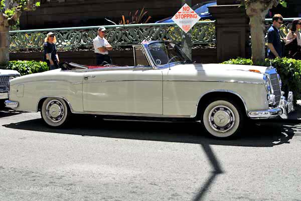 mercedes-benz 220 s coupe #6