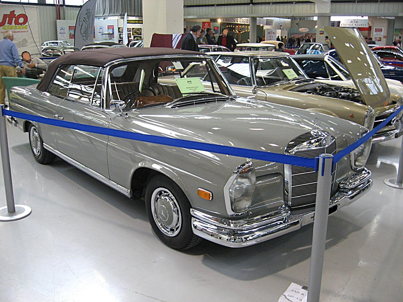 mercedes-benz 220 se convertible-pic. 1