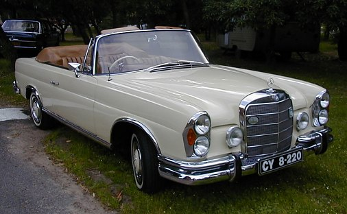 mercedes-benz 220 se convertible-pic. 2