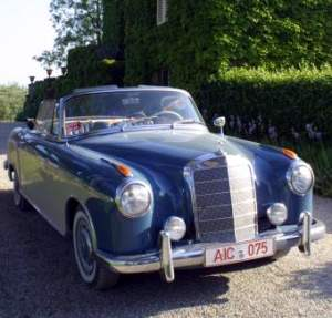 mercedes-benz 220 se convertible-pic. 3