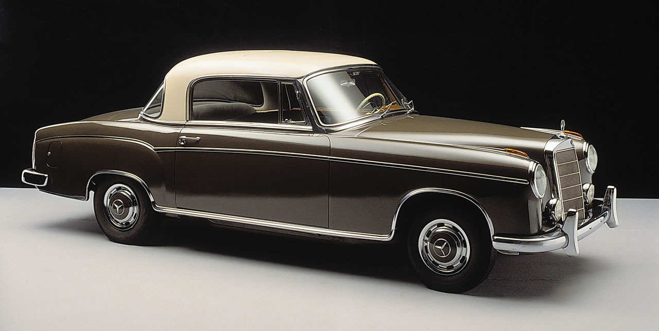 mercedes-benz 220s coupe #3