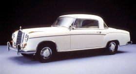 mercedes-benz 220s coupe #4