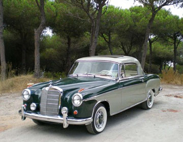 mercedes-benz 220s coupe #5