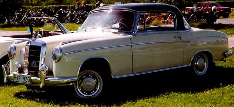 mercedes-benz 220s coupe #6