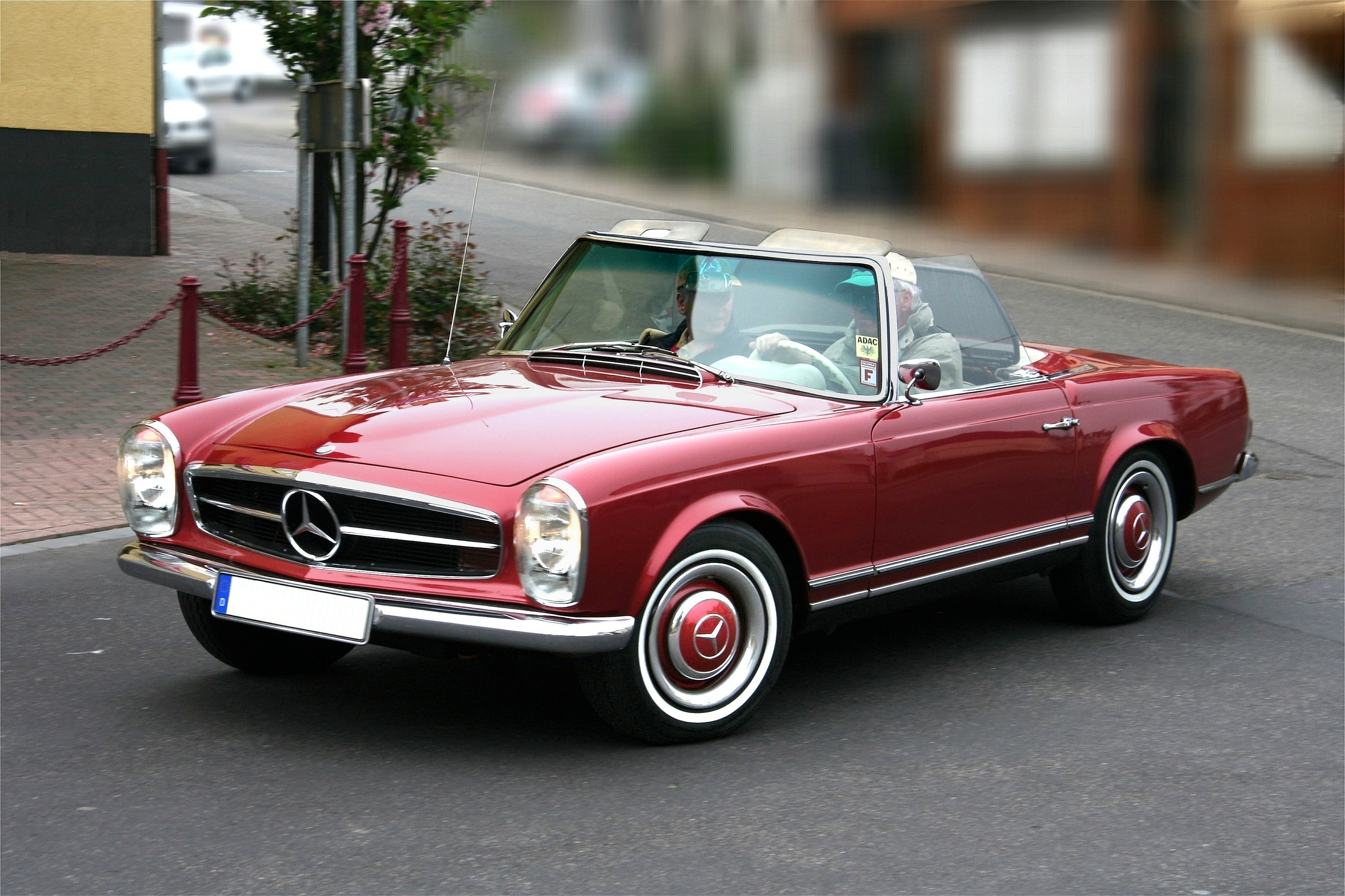 mercedes-benz 230 sl #0