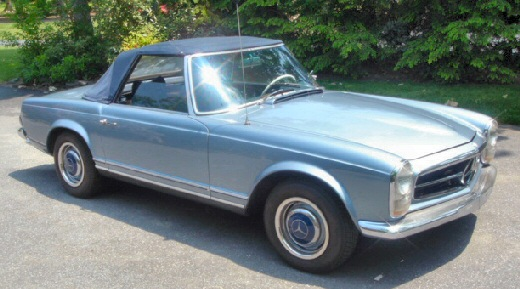 mercedes-benz 230 sl #4