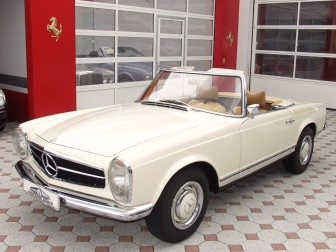 mercedes-benz 230 sl #6