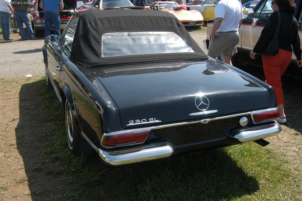 mercedes-benz 230 sl #7