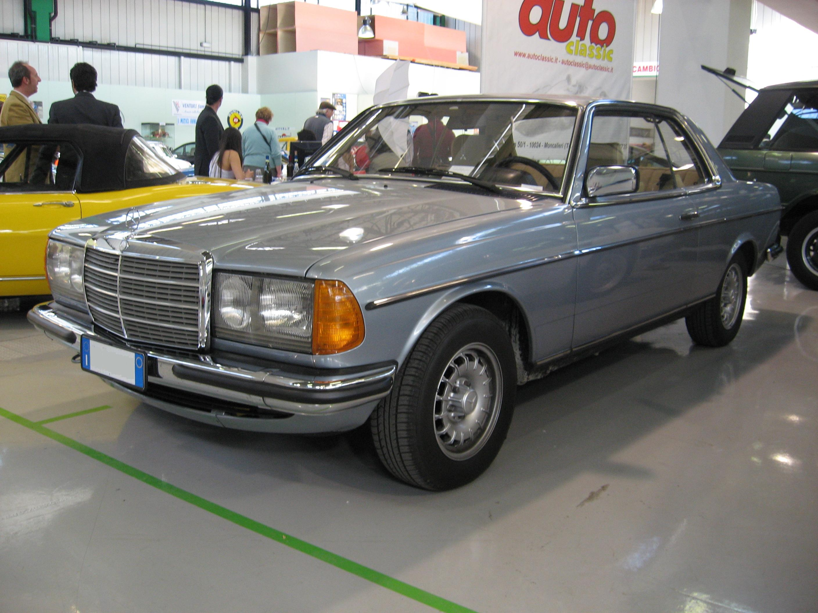 Mercedes Benz 280 Ce Photos And Comments