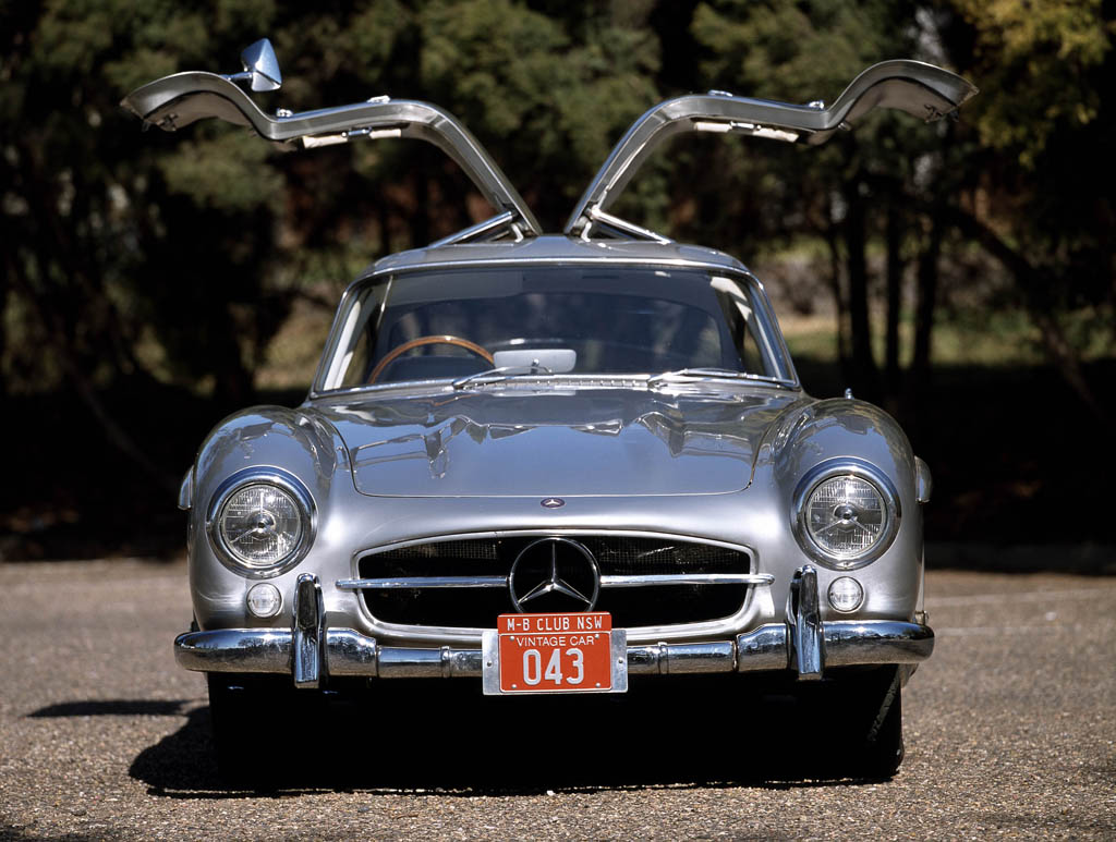 mercedes-benz 300 sl #8