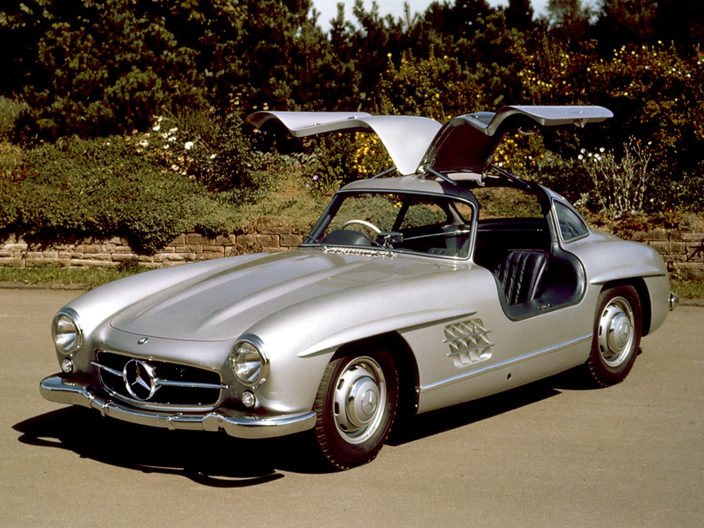 mercedes-benz 300 sl coupe-pic. 1