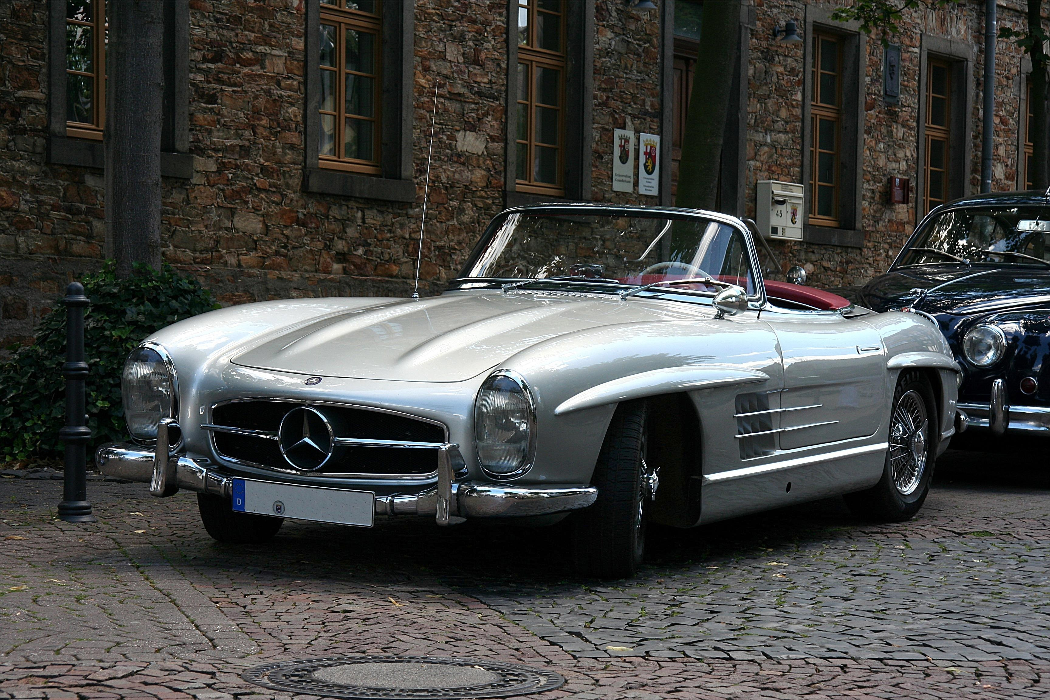 mercedes-benz 300 sl roadster #1
