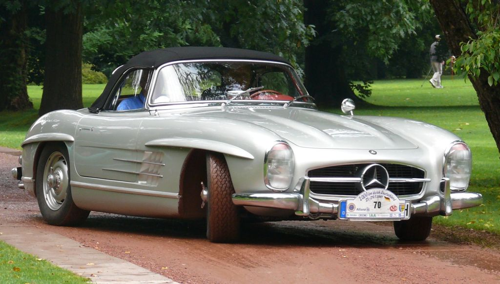 mercedes-benz 300 sl roadster-pic. 3