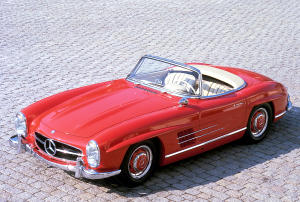 mercedes-benz 300 sl roadster #4