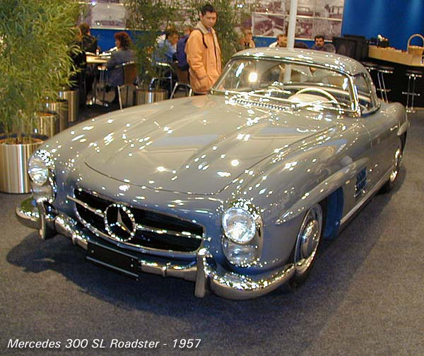 mercedes-benz 300 sl roadster #5