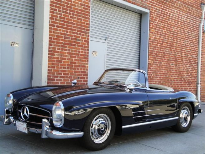 mercedes-benz 300 sl roadster #6