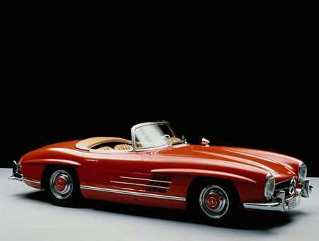 mercedes-benz 300 sl roadster #8