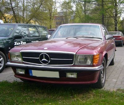 mercedes-benz 350 slc-pic. 1