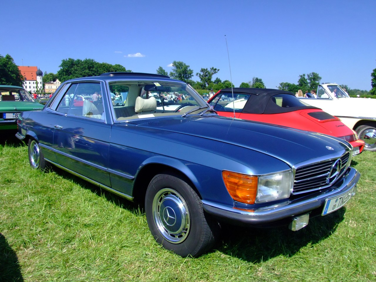 mercedes-benz 350 slc-pic. 2