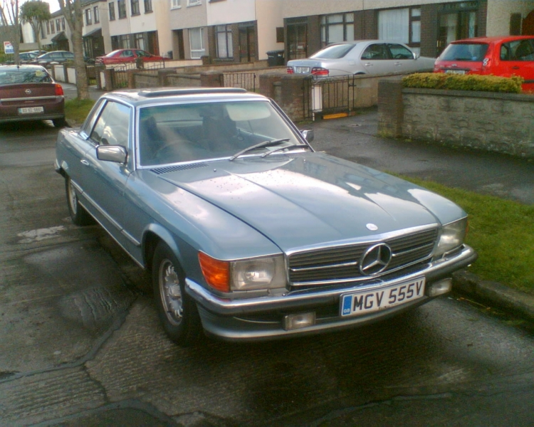mercedes-benz 450 slc-pic. 1