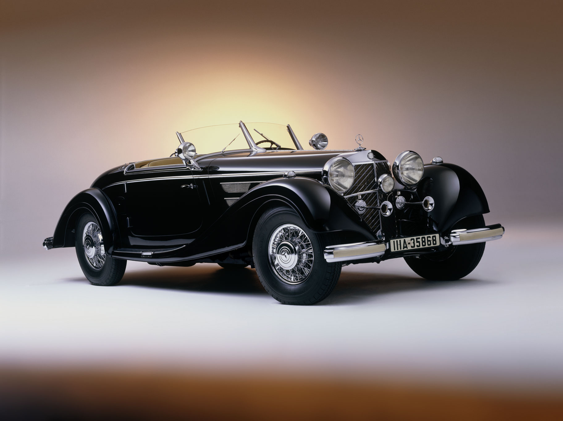mercedes-benz 540 k spezial roadster #0