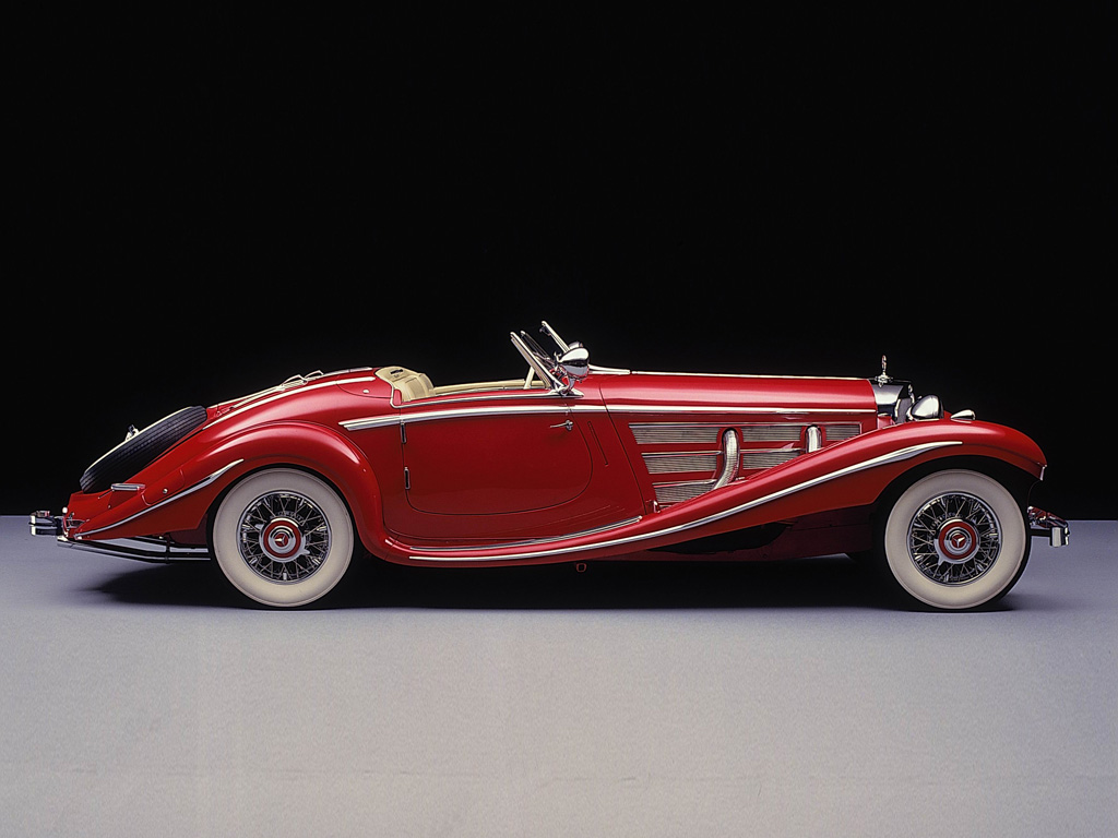 mercedes-benz 540 k spezial roadster #2