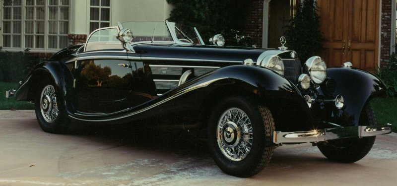 mercedes-benz 540 k spezial roadster #4