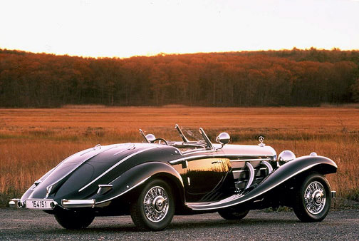 mercedes-benz 540 k spezial roadster #6