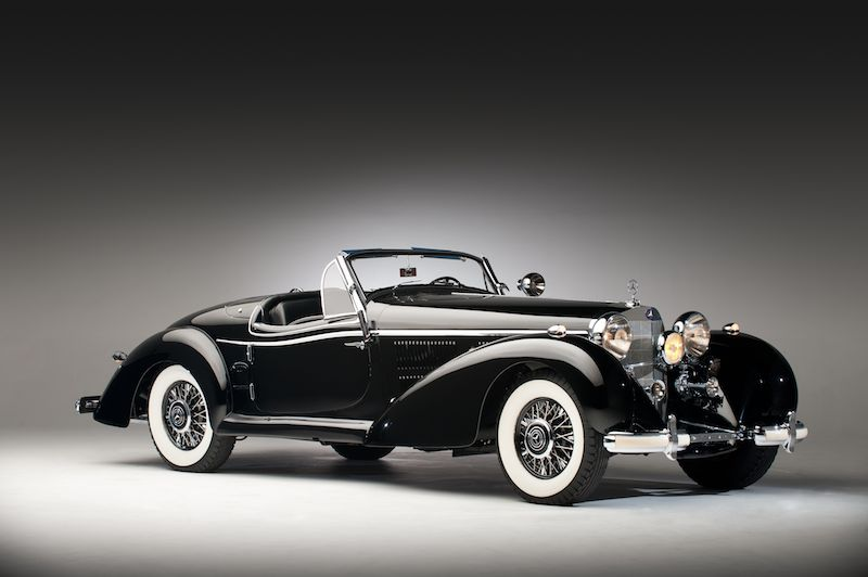 mercedes-benz 540 k spezial roadster #7