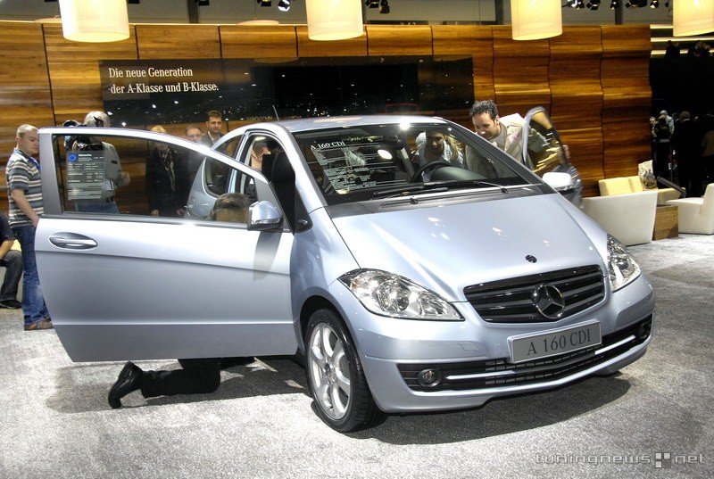 mercedes benz a 160 cdi photos and comments. Black Bedroom Furniture Sets. Home Design Ideas