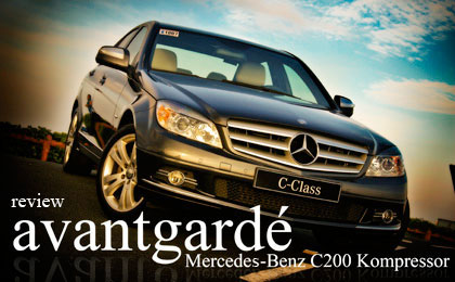 mercedes-benz c 200 k avantgarde #8