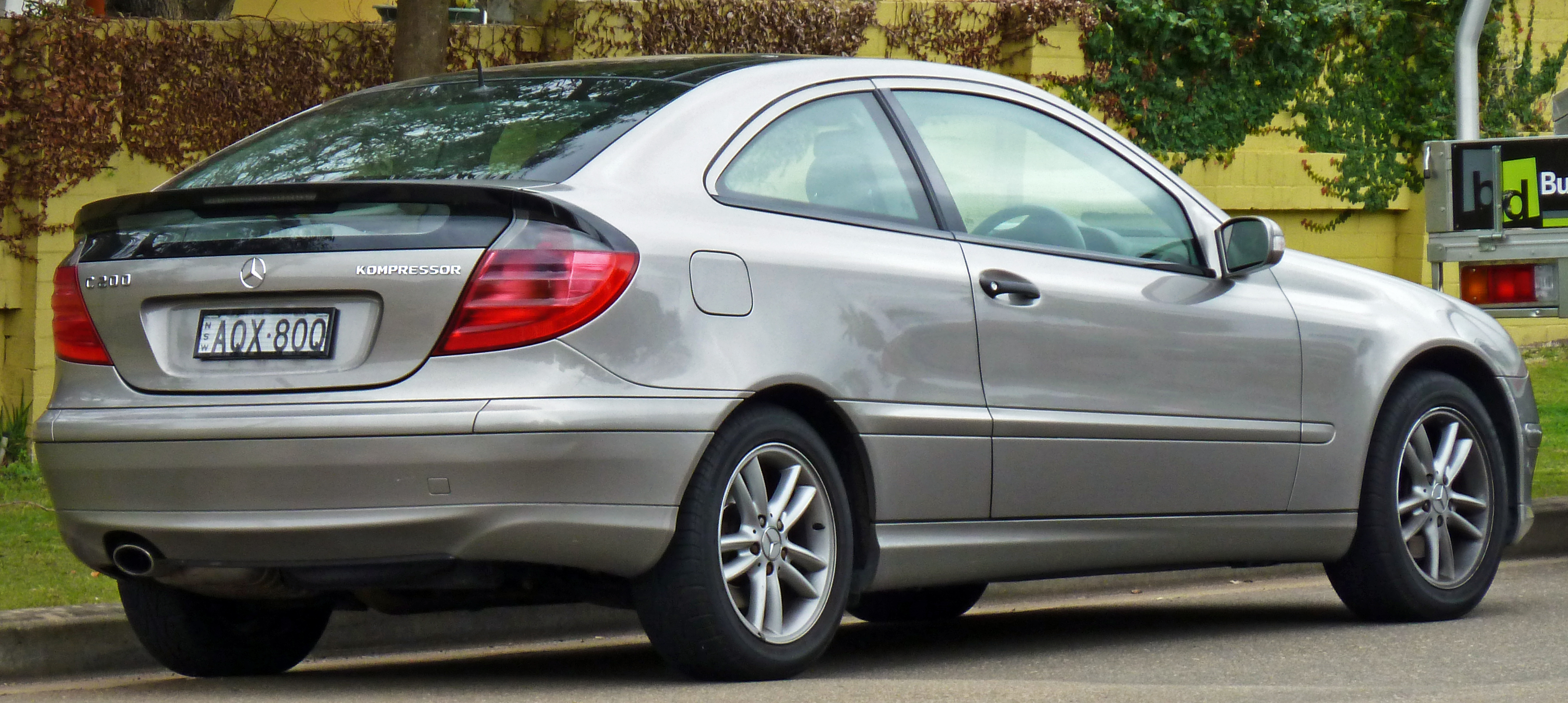 mercedes-benz c 200 kompressor #3