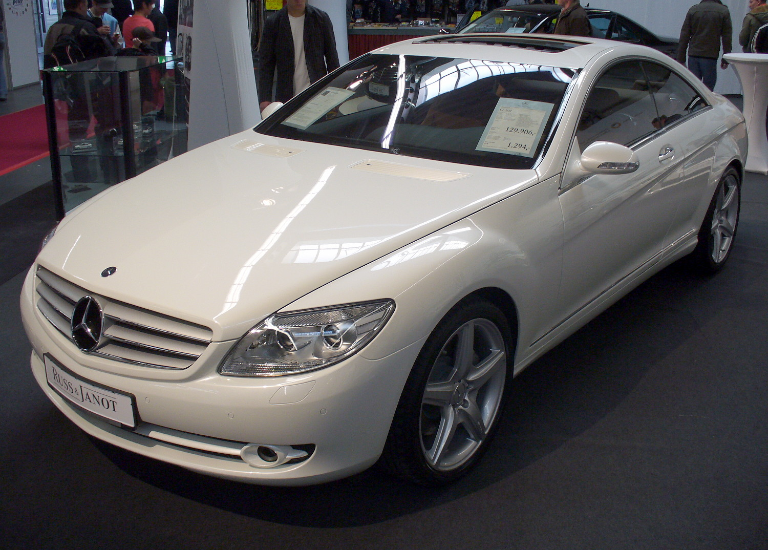 mercedes benz cl 500 coupe photos and comments. Black Bedroom Furniture Sets. Home Design Ideas