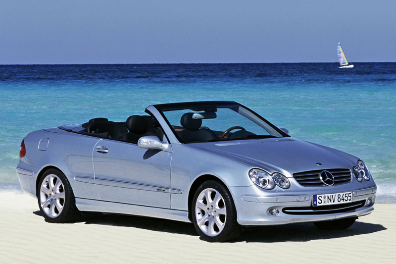 mercedes benz clk 320 cabriolet photos and comments. Black Bedroom Furniture Sets. Home Design Ideas