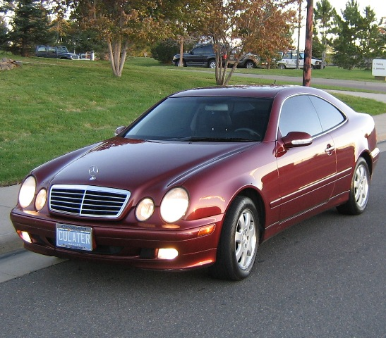 mercedes benz clk 320 coupe photos and comments. Black Bedroom Furniture Sets. Home Design Ideas