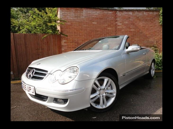 mercedes-benz clk 350 avantgarde #1