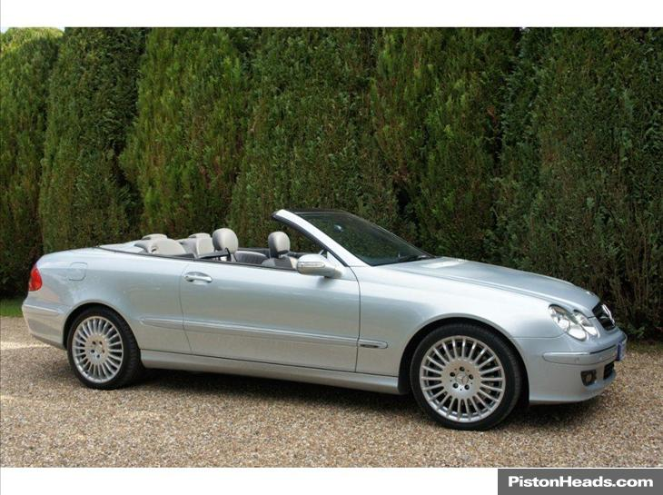 mercedes-benz clk 350 avantgarde #4