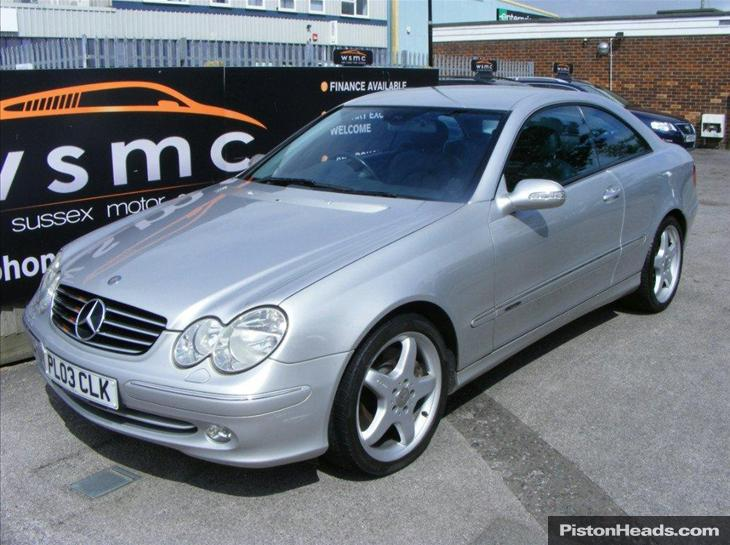 mercedes-benz clk 500 avantgarde #3