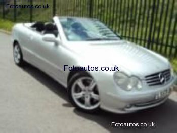 mercedes-benz clk 500 avantgarde #7